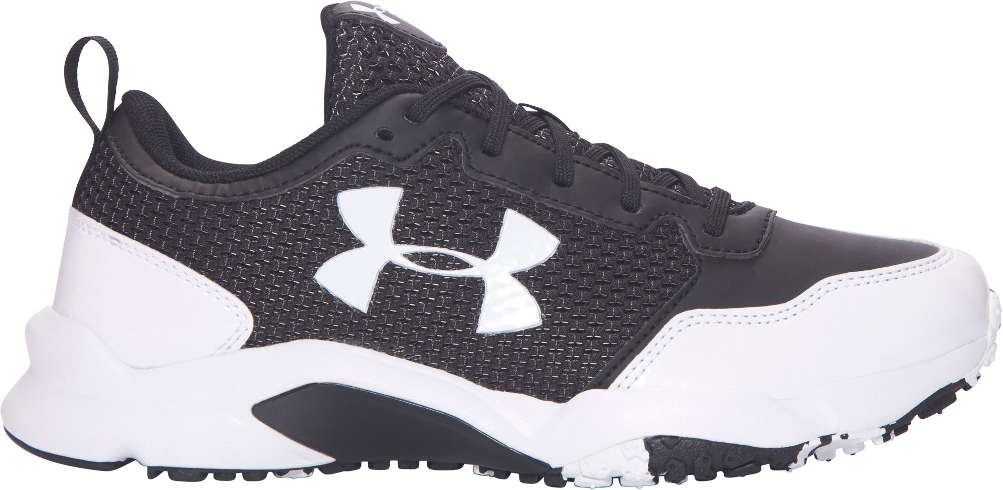 Product Image � Under Armour Kids\u0027 Ultimate Turf Trainer Shoes � Black/White