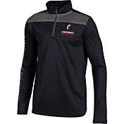 Under Armour Youth Cincinnati Bearcats UA Tech Black Quarter-Zip Shirt