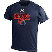 Under Armour Youth Syracuse Orange Blue Tech Performance T-Shirt