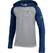 Under Armour NFL Combine Authentic Youth Denver Broncos Tech Grey Long Sleeve Hoodie