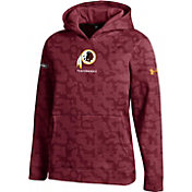 Under Armour NFL Combine Authentic Youth Washington Redskins Armour Fleece Red Hoodie