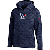 Under Armour NFL Combine Authentic Youth Houston Texans Armour Fleece Navy Hoodie