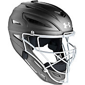 Under Armour Youth Solid Matte Pro Series Catcher's Helmet