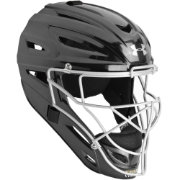 Under Armour Youth Solid Pro Series Catcher's Helmet