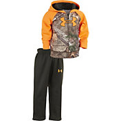 Under Armour Newborn Boys' Realtree Big Logo Hoodie Set