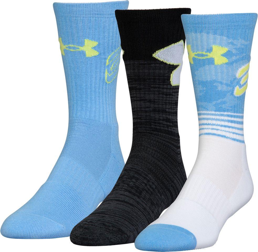 Under Armour Kidsu0027 Phenom Curry Basketball Crew Socks | DICKu0027S Sporting  Goods
