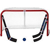 USA Hockey Proform Mini Hockey Net, Stick, and Ball Set
