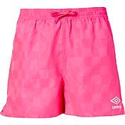 Umbro Girls' Check Soccer Shorts