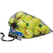 Tourna Low Compression Green Dot Tennis Ball - 18 Pack Mesh Bag