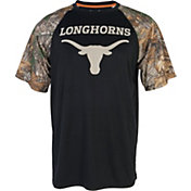 University of Texas Authentic Apparel Men's Texas Longhorns Camo/Black T-Shirt
