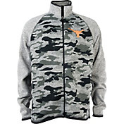 University of Texas Authentic Apparel Men's Texas Longhorns Grey Camo Wilderness Jacket