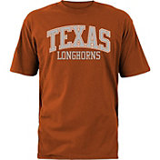 University of Texas Authentic Apparel Men's Texas Longhorns Burnt Orange Over Arch T-Shirt