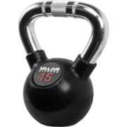 Valor Fitness 15 lb. Chrome Kettlebell