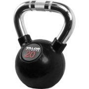 Valor Fitness 20 lb. Chrome Kettlebell