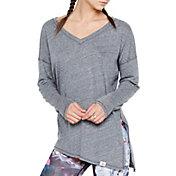 VIMMIA Women's Pacific Asymmetrical Tie Long Sleeve Shirt