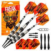 Viper Freak 18g Knurled and Shark Fin Barrel Soft Tip Darts
