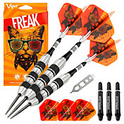 Viper Freak 22g Knurled Shark Fin Barrel Steel Tip Darts
