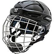 Warrior Senior Krown LTE Ice Hockey Helmet Combo