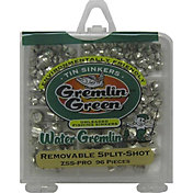 Water Gremlin Green Unleaded Fishing Split-Shot Sinkers Assorted Pack- 96 Pieces