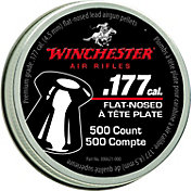 Winchester .177 Caliber Flat-Nosed Pellets – 500 Count