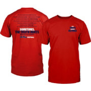 Weezabi Men's Ole Miss Rebels Red 'The Truth' Football T-Shirt