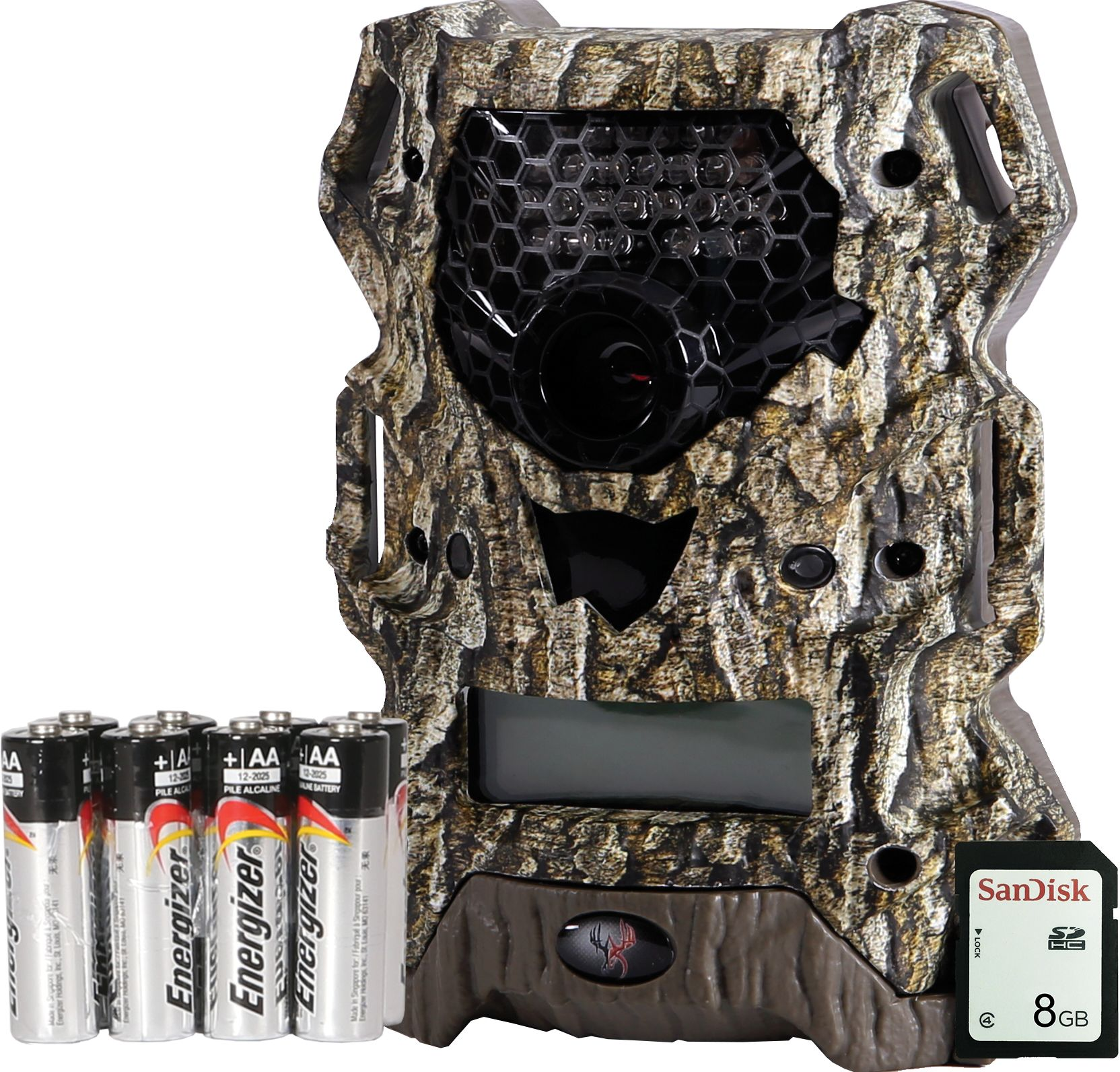 Wildgame Innovations Vision Extreme Trail Camera with SD Card and ...