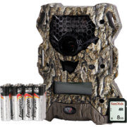Wildgame Innovations  Vision Extreme Trail Camera with SD Card and Batteries – 12MP
