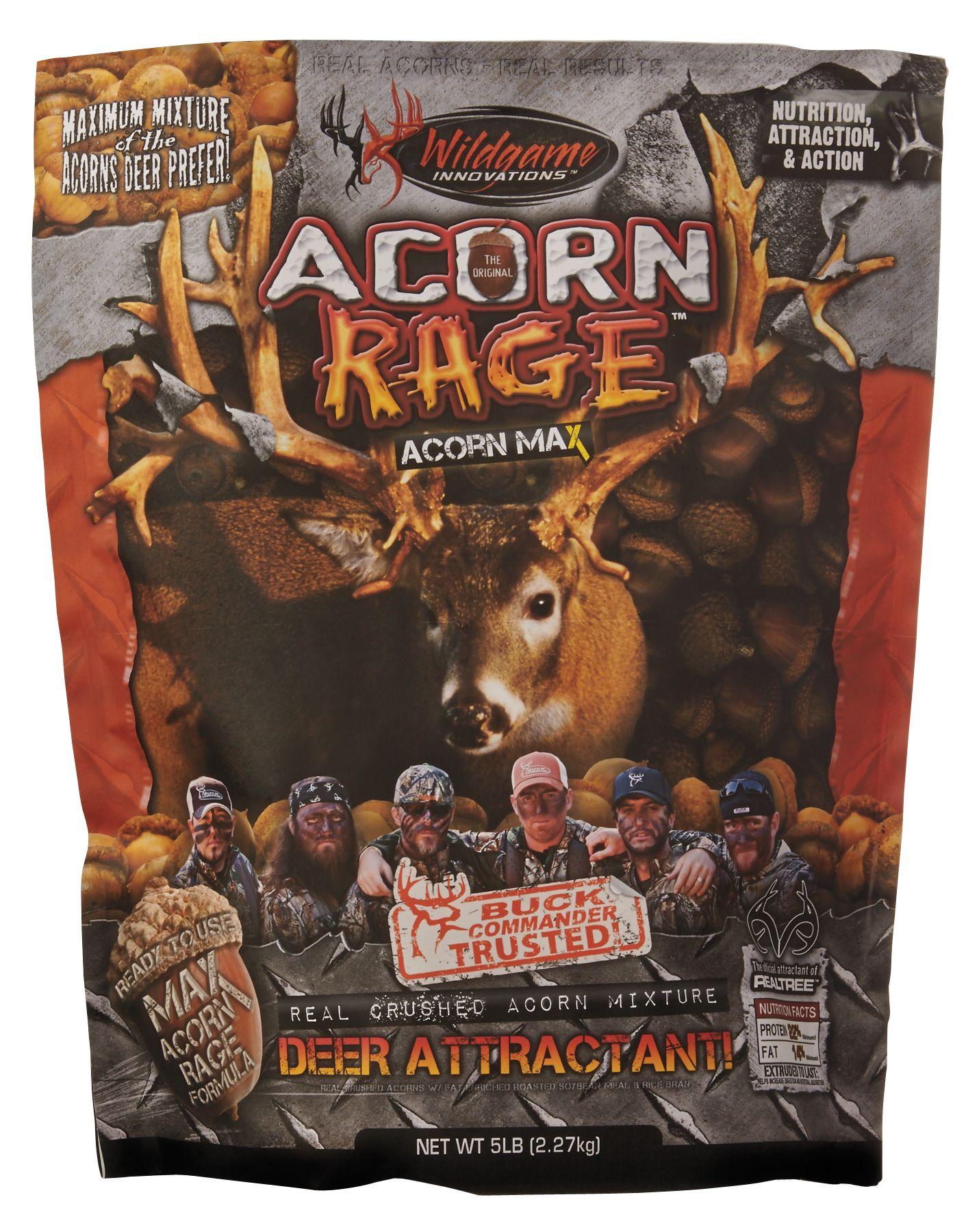 Deer attractants dicks sporting goods product image wildgame innovations buck commander acorn rage attractant 5 lbs publicscrutiny Gallery