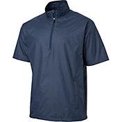 Walter Hagen Men's Half Sleeve Half-Zip Golf Jacket