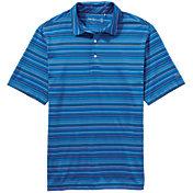 Walter Hagen Men's Port Fine Line Multi Stripe Golf Polo