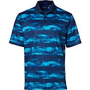 Walter Hagen Men's Port Water Color Stripe Golf Polo