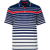 Walter Hagen Men's Americana Ombre Stripe Golf Polo