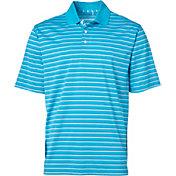 Walter Hagen Men's Essentials Fine Line Stripe Golf Polo