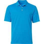 Walter Hagen Men's Essentials Textured Solid Golf Polo