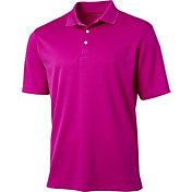 Walter Hagen Men's Essentials Textured Solid Golf Polo