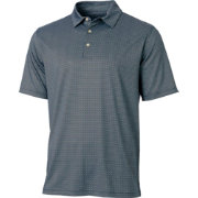 Walter Hagen Men's Topsail Tiled Print Golf Polo