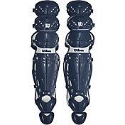 Wilson Adult Pro Stock Catcher's Leg Guards