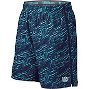 Wilson Men's FW 8'' Printed Tennis Shorts