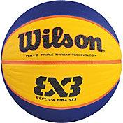 Wilson FIBA 3x3 Replica Official Basketball (28.5)