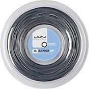 Luxilon ALU Power Soft 16L Tennis String – 200M Reel