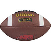 Wilson Arkansas Razorbacks Composite Official-Size Football