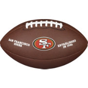 Wilson San Francisco 49ers Composite Official-Size Football