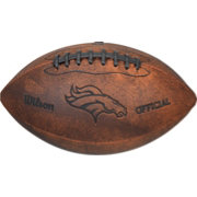 Wilson Denver Broncos Vintage Mini Football