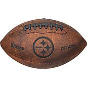 Wilson Pittsburgh Steelers Vintage Mini Football