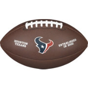 Wilson Houston Texans Composite Official-Size Football