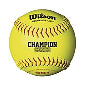 Wilson 12'' ASA Fastpitch Softballs