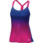 Wilson Women's Late Summer Ikat Printed Tennis Tank