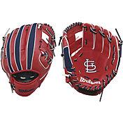 """Wilson 10"""" A200 St. Louis Cardinals T-Ball Glove"""