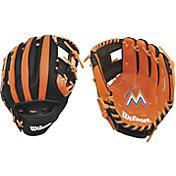 """Wilson 10"""" A200 Miami Marlins T-Ball Glove"""