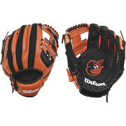 "Wilson 10"" A200 Baltimore Orioles T-Ball Glove"